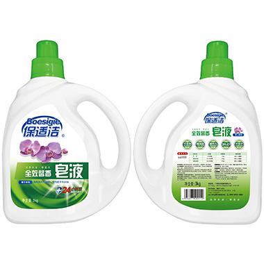 3KG保适洁皂液(蕙兰)V2017-0417