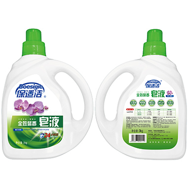 3KG保適潔皂液(蕙蘭)V2017-0417